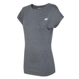 Tricou sport de dama 4F Grey Thermo Dry