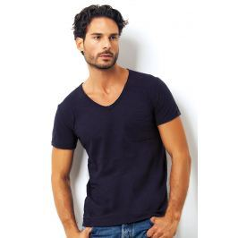 Tricou barbatesc Enrico Coveri 1512 Blue