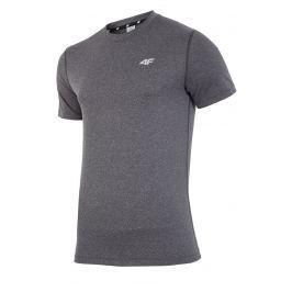 Tricou fitness barbatesc 4F Dry Control Melange