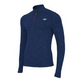 Bluza barbateasca 4F Navy, material functional