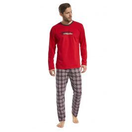 Pijama barbateasca Display, rosu