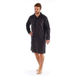 Camasa de noapte barbateasca Harvey Black Stripe