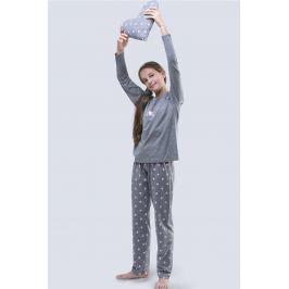 Pijama fetite Meow gri
