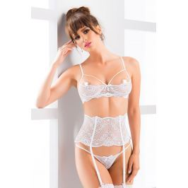 Compleu seducator din dantela Madison White