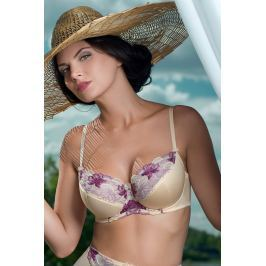 Sutien Bouquet Purple semi-intarit