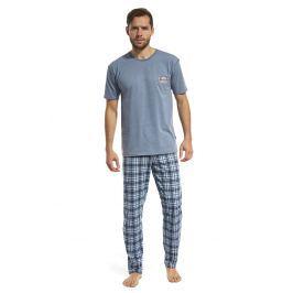 Pijama barbateasca Mountain albastru
