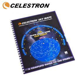 Atlas stelar celestron sky maps 93722