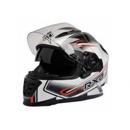 Casca motocicleta Integrala Richa Xenon Graphic, marime XL, culoare Alba