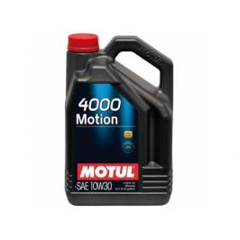 Ulei motor Motul 4000 Motion, 10W30, 5L