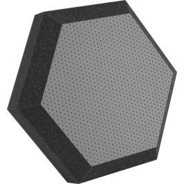 Ultimate UA-HX-12GR Hexagonal Foam Wall Panel 12'' Gray Vinyl