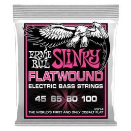 Ernie Ball 2814 Flatwound Cobalt Super Slinky