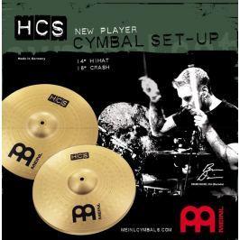 Meinl HCS 14-16 Starter cymbal set