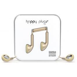 Happy Plugs Earbud Champagne Matte Deluxe Edition
