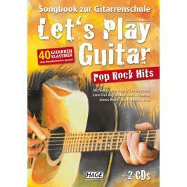 HAGE Musikverlag Let's Play Guitar Pop Rock Hits (2 CDs)