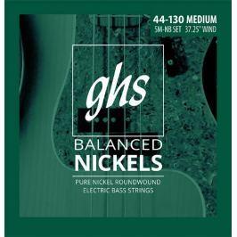 GHS Balanced Nickels - Medium 5 String 44-130