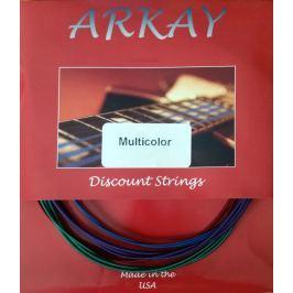 Aurora Arkay Standard Bass Guitar Strings 45-125 Red