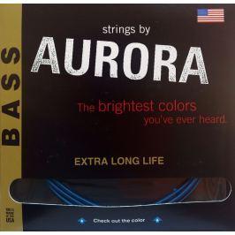 Aurora Premium 5-String Bass Strings 45-125 Aqua