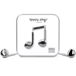 Happy Plugs Earbud Plus Silver Deluxe Edition