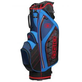 Ogio Cirrus Cart Bag Blu/Red