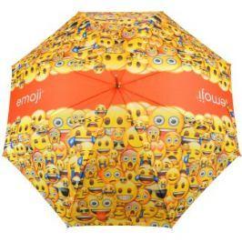 Emoji Emoji Single Canopy Umbrella Blk/Wht