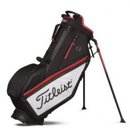 Titleist Players 4 Bag Blk/Wh/Red