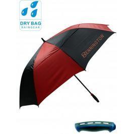 Bennington Wind Vent Umbrella Blk/Red