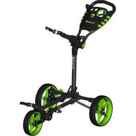 Fastfold Flat Fold Trolley Black/Lime