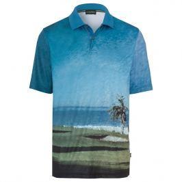 Golfino Mens Allover Printed Short Sleeve Polo 673 56