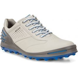 Ecco Golf Cage Pro Concrete /Bermuda Blue 45 Mens