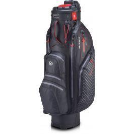 Bennington QO 9 Lite Wp Quiet Organizer 9 Hole Waterproof Black/Red