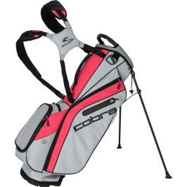 Cobra Ultralight Stand Bag Quarry-Raspberry
