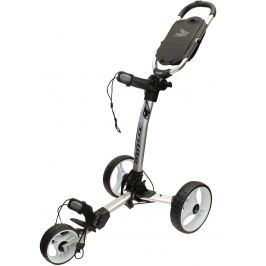 Axglo TriLite 3 wheel trolley silver/white