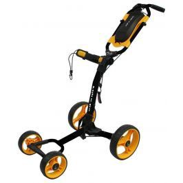 Axglo Flip N Go 4 wheel trolley Black/Yellow