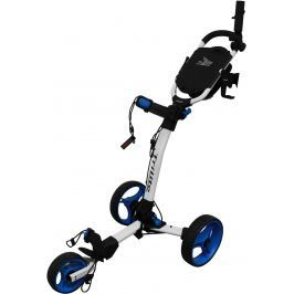 Axglo TriLite 3 wheel trolley white/blue