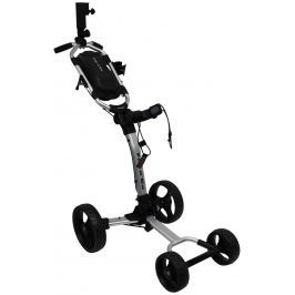 Axglo Flip N Go 4 wheel trolley silver/black