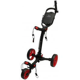 Axglo TriLite 3 wheel trolley black/red