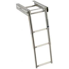 Osculati Underplatform Ladder 4 st. - Inox