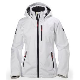 Helly Hansen W CREW HOODED JACKET - WHITE - XS