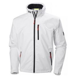 Helly Hansen CREW HOODED JACKET - WHITE - L