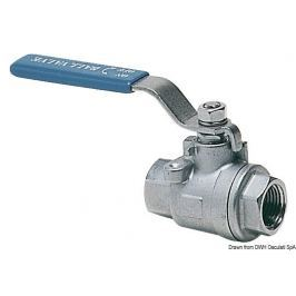 Osculati Full-flow ball valve AISI 316 1 1/4''
