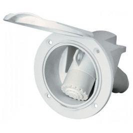 Nuova Rade Case w/White Shower Spray, 3m Hose, w/Lid, White