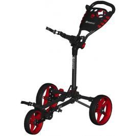 Fastfold Flat Trolley Charcoal/Red
