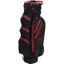 Spalding 9.5 Inch Waterproof Cart Bag Black Red