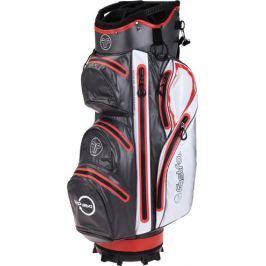 Fastfold Waterproof Cartbag Grey/White/Red