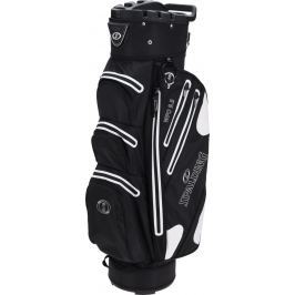 Spalding 9.5 Inch Waterproof Cart Bag Black White