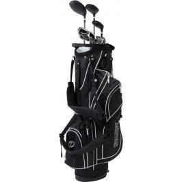 Spalding True Black Full Set Mens RH Graphite/Steel Stand Bag