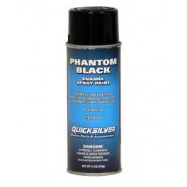 Quicksilver Phantom Black Spray Paint