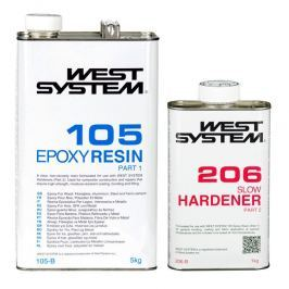 West System B-Pack Slow 105+206