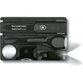 Victorinox SwissCard Lite Black Transparent