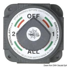Osculati Heavy Duty battery switch, high-power model